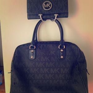 Michael Kors bag/ wallet